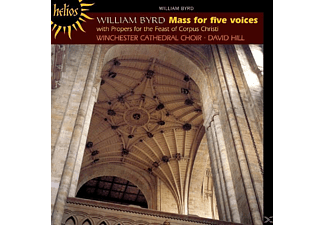 David Hill, Winchester Cathedral Choir - Mass for five voices - (CD)