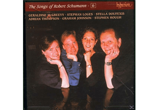 McGREEVY, DOUFEXIS, THOMPSON, JOHNSON, HOUGH ua, McGreevy,G./Doufexis,S/+ - The Songs Of Robert Schumann 6 - (CD)