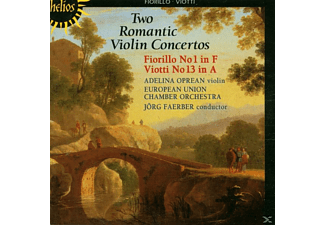 A. Oprean, J. Färber, Europ.KO, Oprean,A./Färber,J./Europ.KO - Two Romantic Violin Concertos - (CD)