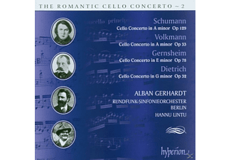 Rundfunk-sinfonieorchester, Gerhardt,Alban/Lintu,Hannu/RSB - Romantic Cello Concerto Vol.2 - (CD)