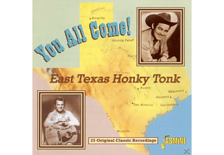 VARIOUS - You All Come!-East Texas Honky Tonk - (CD)