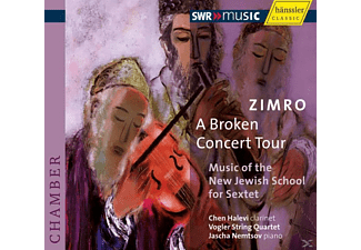 Vogler String Quartet & Halevi - Zimro: A Broken Concert Tour - (CD)