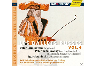 Bour - Les Ballets Russes Vol.4 - (CD)