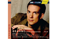 Johannes Moser - Brahms and His Contemporaries, Vol. 3 [CD]
