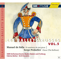 Swr Sinfonieorchester, Kirill Karabits, Fabrice Bollon - Les Ballets Russes Vol.5 [CD]