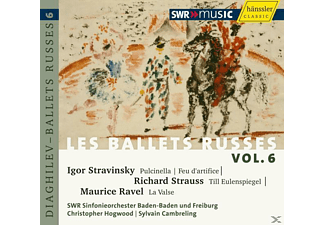 Christopher Hogwood, Swr Sinfonieorchester, Sylvain Cambreling - Les Ballets Russes Vol.6 - (CD)