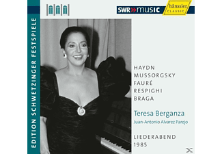 BERGANZA/ALVAREZ PAREJO, Berganza,Teresa/Parejo,J.-A. - An Evening Of Song - (CD)