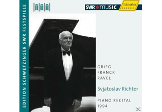 Sviatoslav Richter - Piano Recital 1994 - (CD)