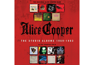 Alice Cooper -  The Studio Albums 1969-1983 [CD]