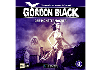 Gordon Black 4-Der Monstermacher - 1 CD - Hörbuch
