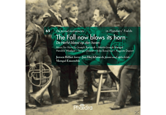 Billiet, Huylebroeck, Mengal Ensemble, Billiet/Huylebroeck/Mengal Ensemble - The Fall now blows its horn - (CD)