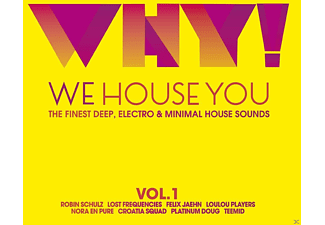 VARIOUS - Why!-We House You The Finest Deep, Electro & Mini - (CD)