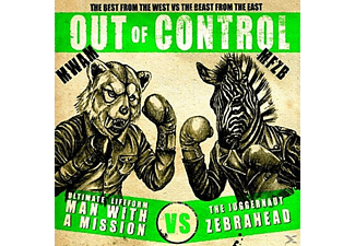 Zebrahead X Man With A Mission - Out Of Control - (CD)