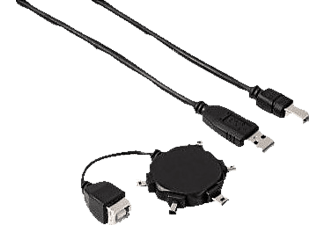 "HAMA ""Star"" Mini USB 2.0 Adapter Kit - (00039733)"