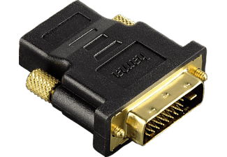 HAMA DVI HDMI™ Adapter, DVI plug - HDMI™ socket, gold-plated, shielded - (00034035)