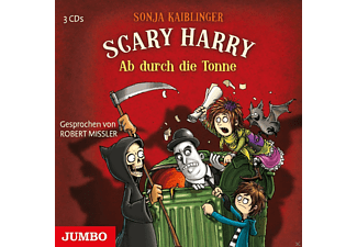 Scary Harry. Ab durch die Tonne - 3 CD - Kinder/Jugend