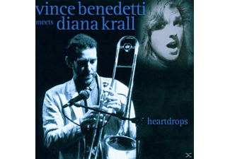 V Benedetti Meets Diana Krall, BENEDETTI,VINCE & KRALL,DIANA - Heartdrops - (CD)