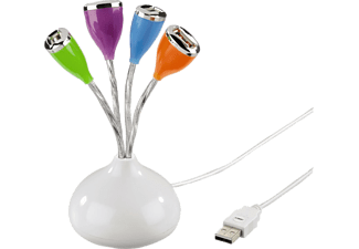 HAMA USB 2.0 Hub 1-4, bus powered - (00012150)