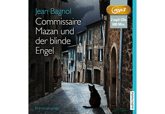 Commissaire Mazan und der blinde Engel - 2 MP3-CD - Krimi/Thriller