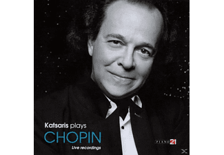 Cyprien Katsaris - Katsaris Plays Chopin - (CD)