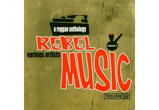 VARIOUS - Rebel Music/Reggae Anthology - (CD)