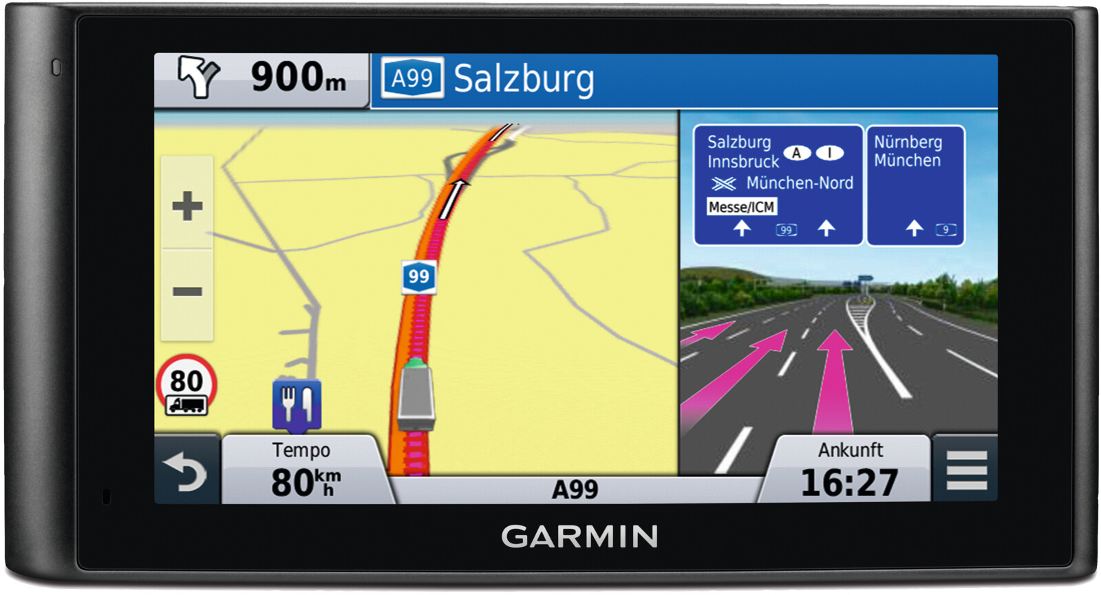 garmin dezlcam lkw navigationsger t 6 1 zoll. Black Bedroom Furniture Sets. Home Design Ideas