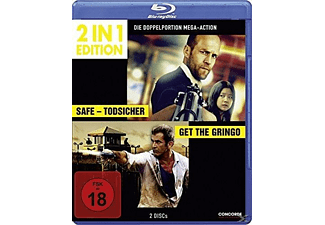 2 in 1 Edition: Get the Gringo + Safe - Todsicher - (Blu-ray)