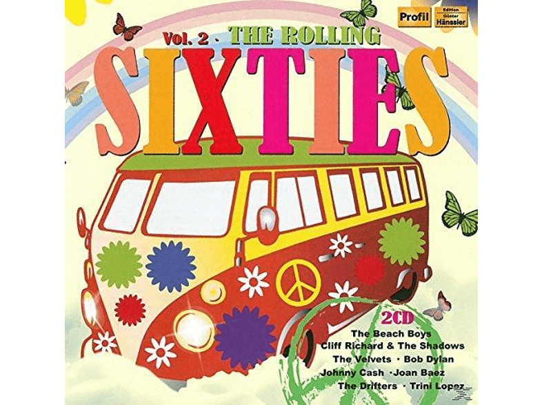 VARIOUS - The Rolling Sixties Vol.2 [CD]