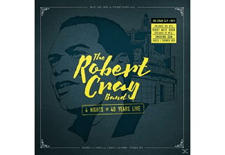 The Robert Cray Band - 4 Nights Of 40 Years Live (180gr.2lp Gatefold+Mp3) [LP + Download]