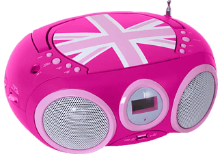 BIGBEN CD32 CD Player (Pink)