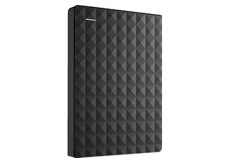 SEAGATE Expansion Portable, 2 TB HDD, 2.5 Zoll, extern, Schwarz