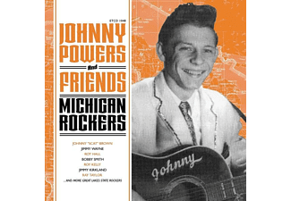 VARIOUS - Johnny Powers And Friends-Michigan Rockers [CD]
