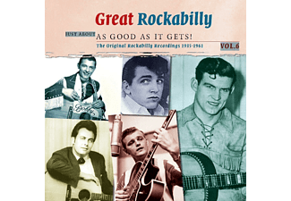 VARIOUS - GREAT ROCKABILLY-JUST ABOUT AS GOOD AS IT GETS - (Vinyl)