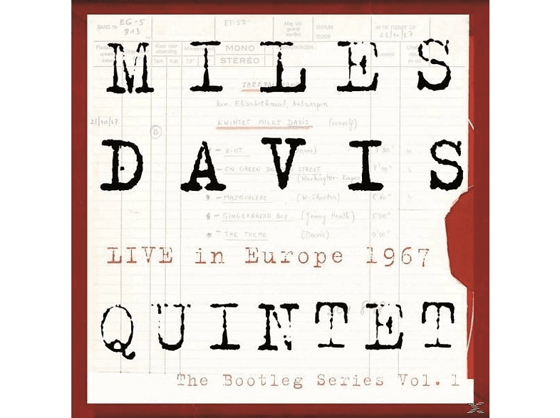Miles Davis - Bootleg Series 1:Live In Europe '67 [Vinyl]