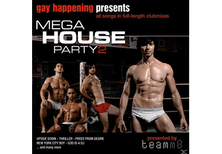 VARIOUS - Gay Happening Pres.Mega House Party 2 - (CD)