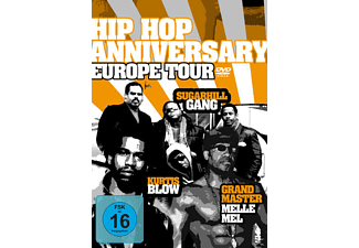 VARIOUS - Hip Hop Anniversary Europe Tour - (DVD)