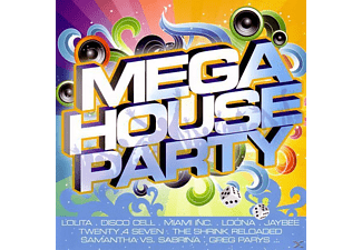 VARIOUS - Mega House Party - (CD)