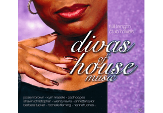 VARIOUS - Divas Of House Music - (CD)