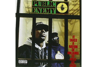 Public Enemy - It Takes A Nation Of Million - (CD EXTRA/Enhanced)