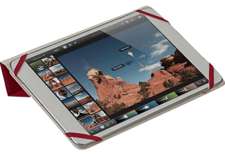 RIVACASE 3122 Double-sided tablet cover 7-8 Red/ White