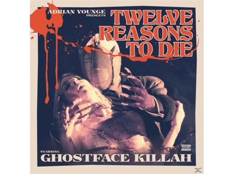 Ghostface Killah - Adrian Younge Pres. 12 Reasons To Die I [CD]