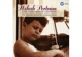 PERLMAN,ITZHAK/THE JUILLIARD ORCHESTRA/FOSTER,L. - Concertos From My Childhood(Itzhak Perlman Ed - (CD)