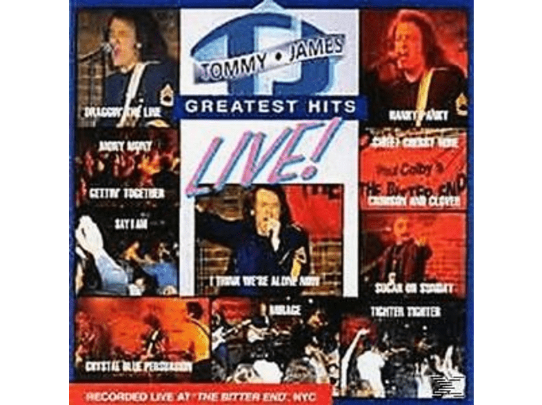 Tommy James - Greatest Hits Live [CD]