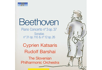 KATSARIS, CYPRIEN/ BARSHAI, RUDOLF - Beethoven: Concerto for Piano-Sonata 31 & No - (CD)
