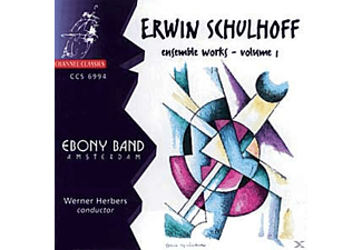 Herbers, Ebony Band/Herbers - Ensemble Works Vol.1 - (CD)