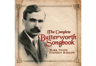 STONE/BARLOW - The Complete Butterworth Songbook - (CD)
