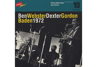 Ben & Dexter Gordon Webster - Swiss Radio Days Vol.10/Baden 1972 - (CD)