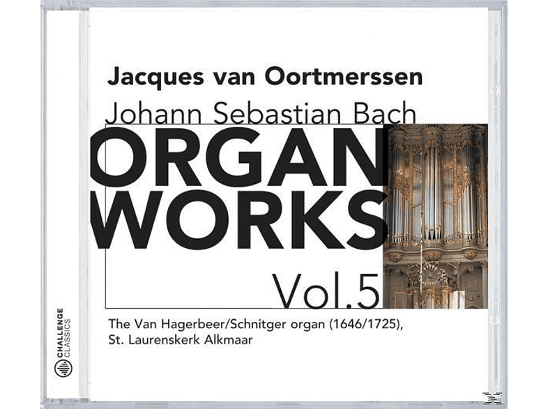 Jacques Van Oortmerssen - Organ Works Vol.5 [CD]