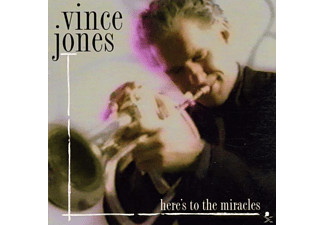 Vince Jones - Here's To The Miracles - (CD)