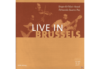 VARIOUS - LIVE IN BRUSSELS - (CD)